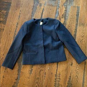J. Crew Portfolio jacket in matelasse K5586